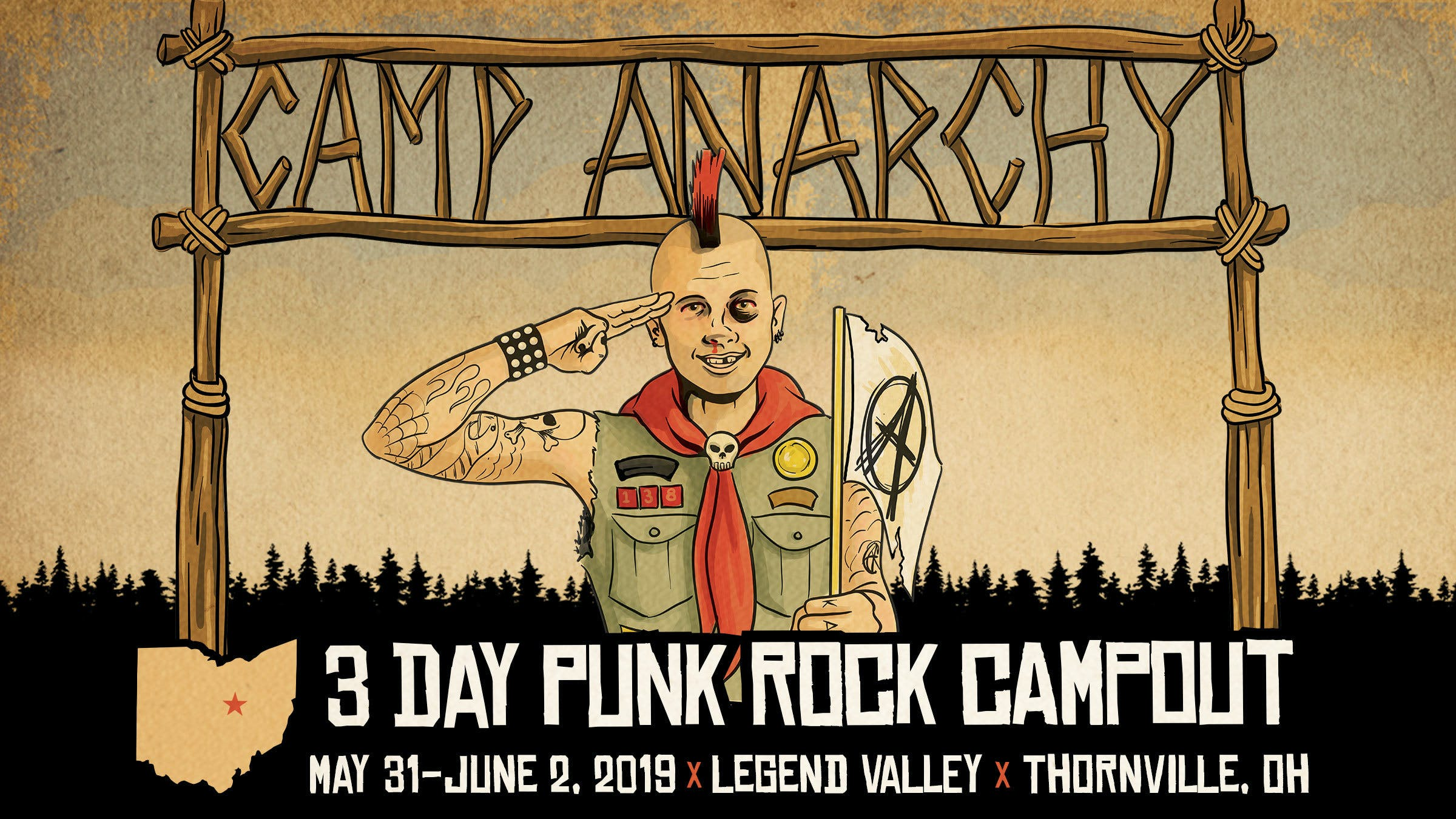 The Offspring, Rancid, NOFX, Bad Religion And More To Play New Festival, Camp Anarchy