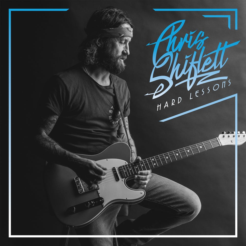 The cover of Chris Shiflett's album Hard Lessons