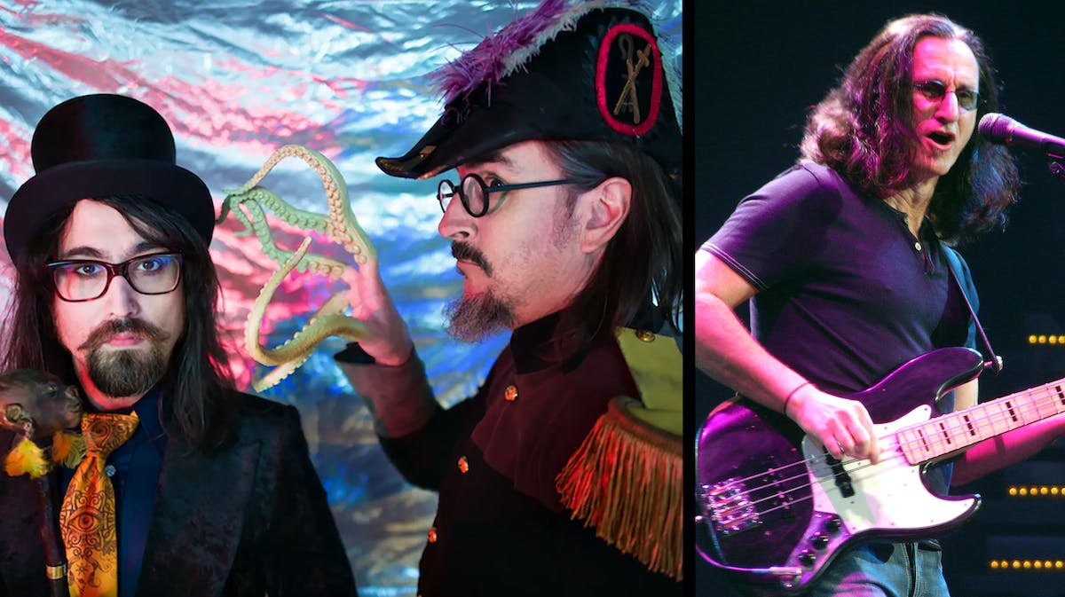 Watch Les Claypool and Sean Lennon Play A Beatles Song with Geddy Lee of Rush