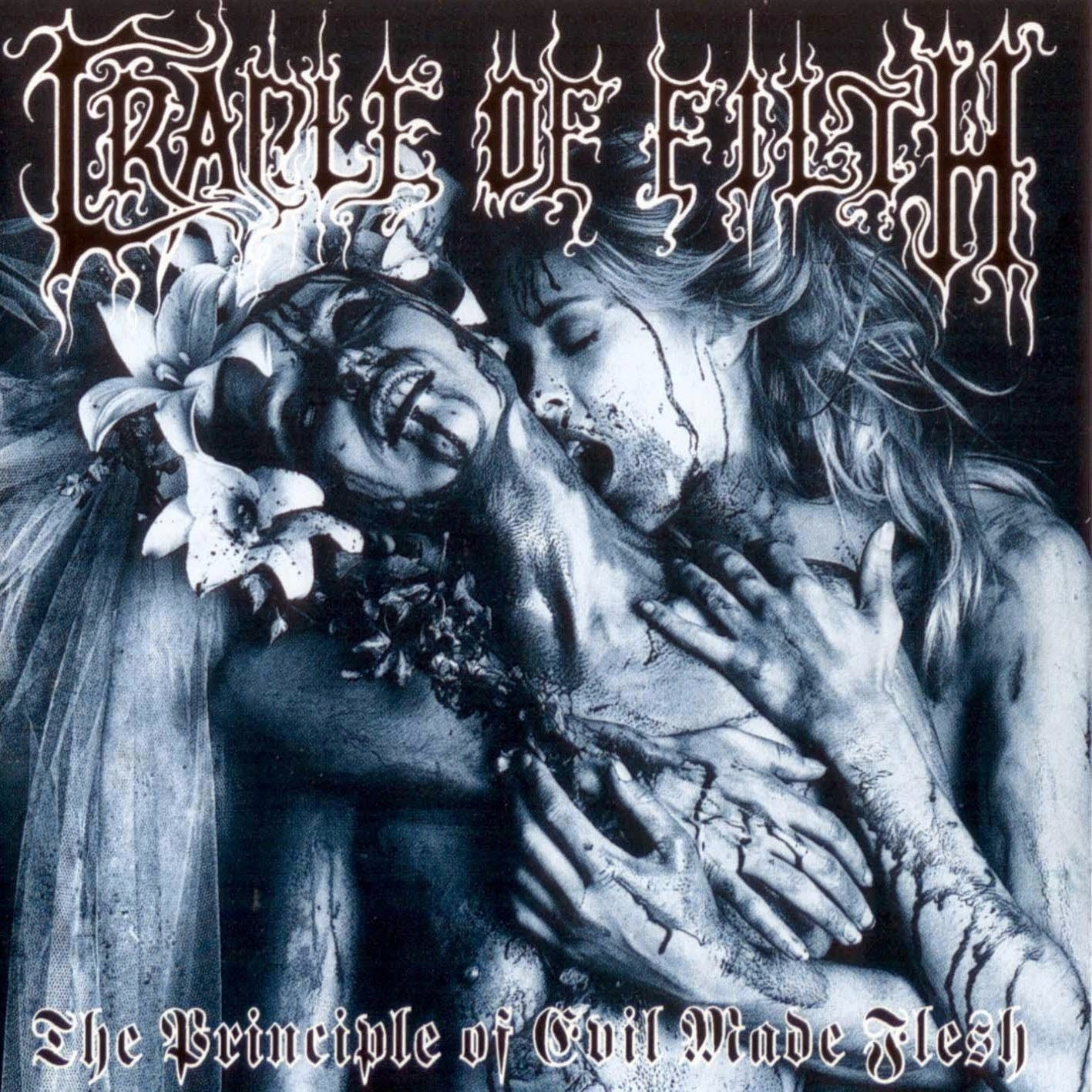 Cradle Of Filth The Principle Of Evil Made Flesh Front