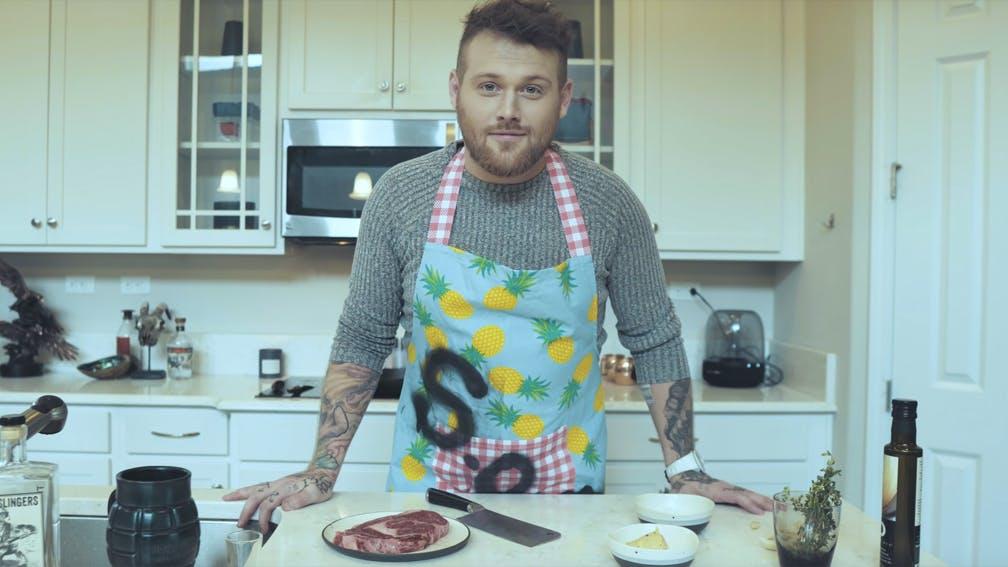 Asking Alexandria's Danny Worsnop Releases New Solo Song And Video, Best Bad Habit