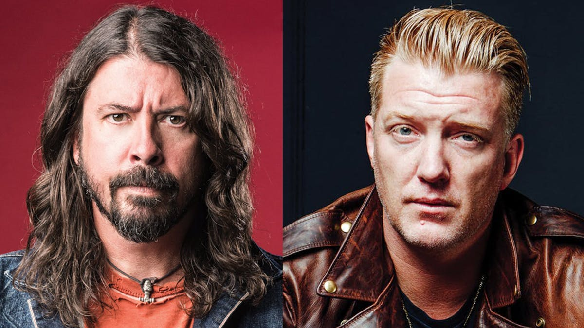 Dave Grohl Is Set To Feature On The New Queens Of The Stone Age Album