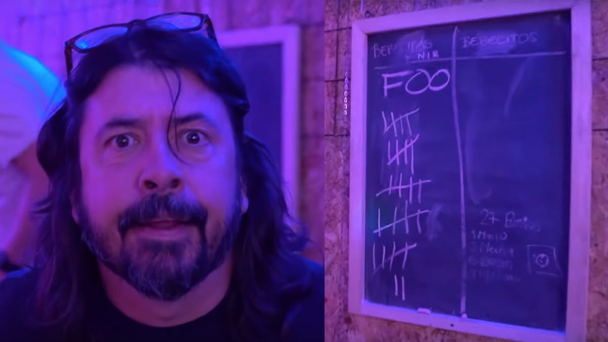 Watch Foo Fighters And Tenacious D Go Head To Head In A Colombian Game, Tejo