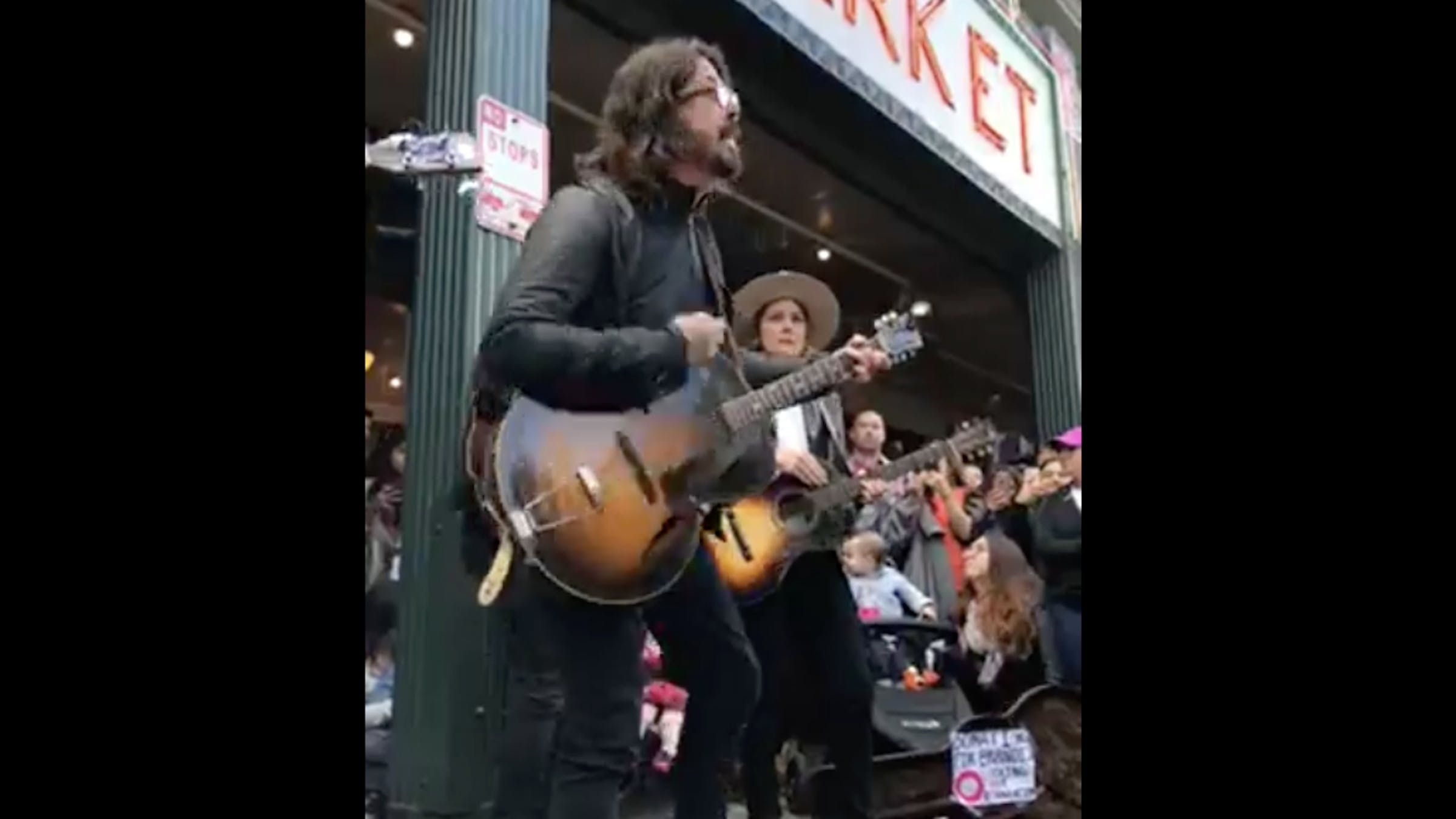 Watch Dave Grohl And Brandi Carlile Go Busking Together In Seattle