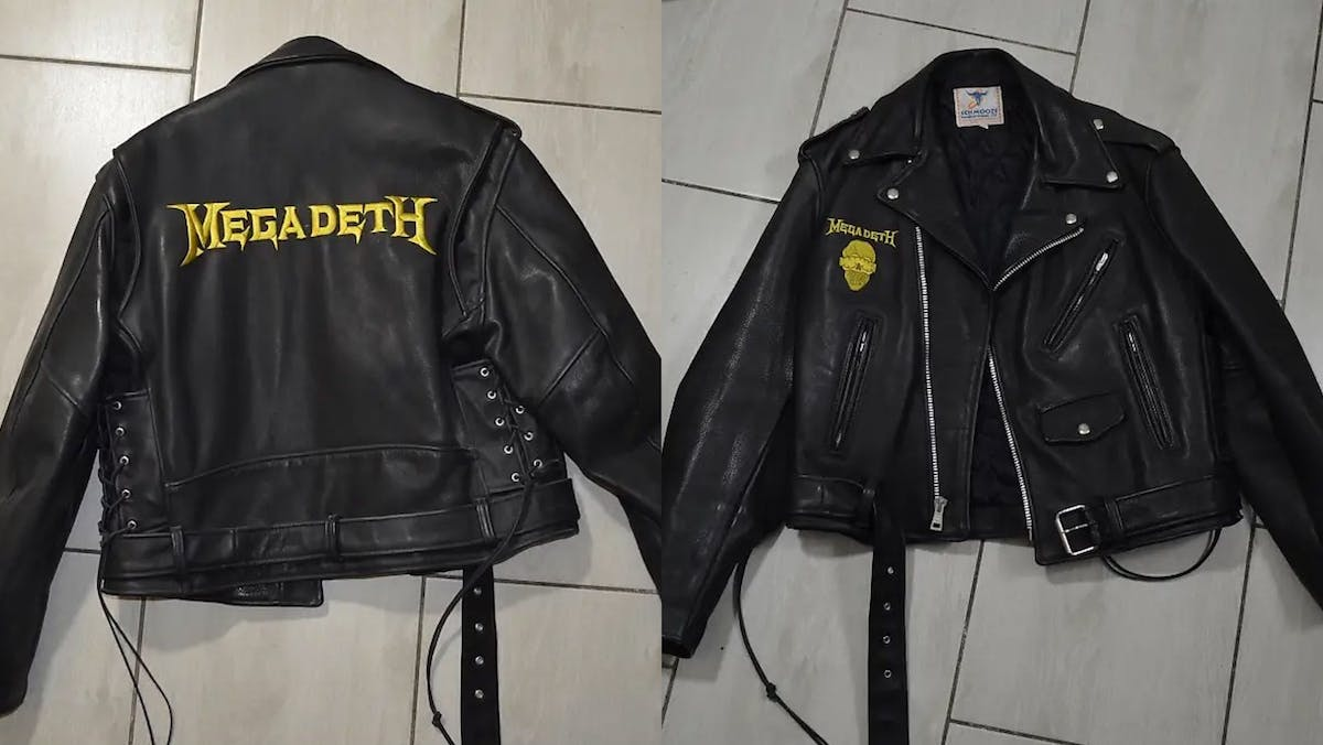 Dave Mustaine's Rust In Peace-Era Leather Jacket Is For Sale For A Scant $5,000