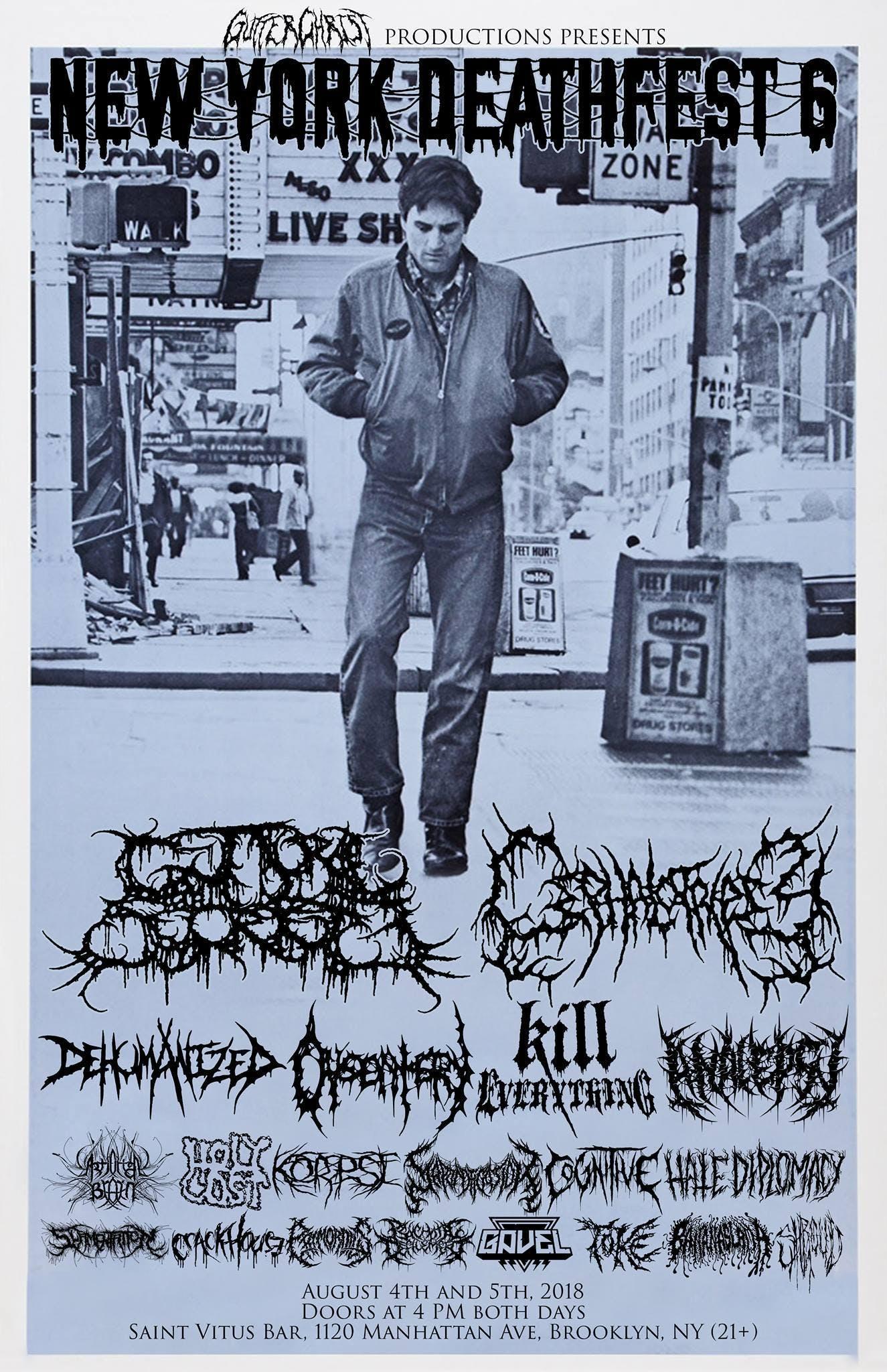 Death Metal Fest Poster