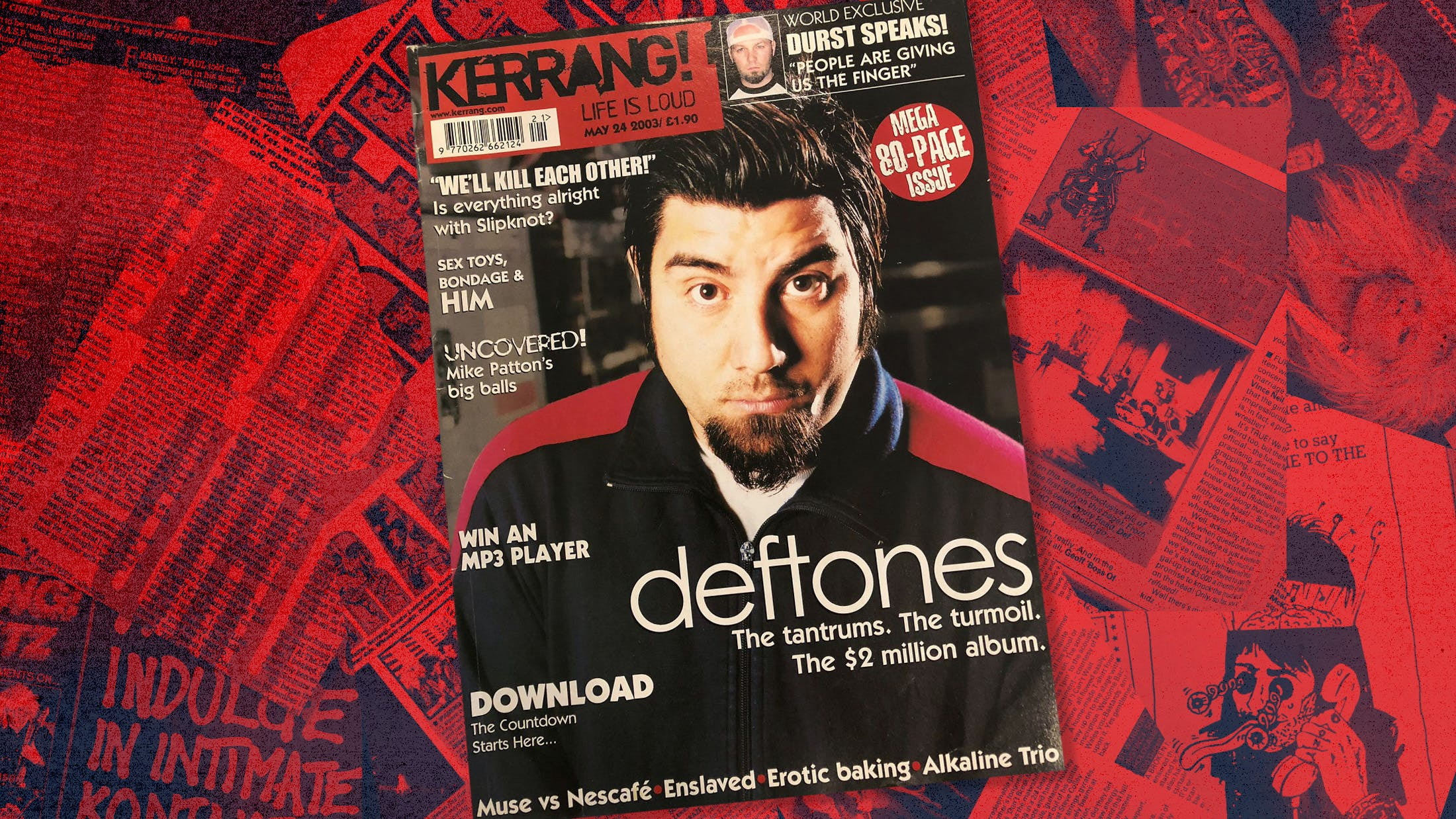 This Week In Kerrang! History: Issue 956, May 2003