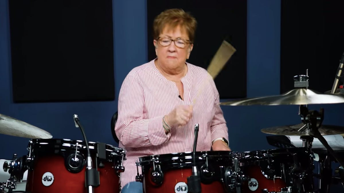 This Grandma's Drum Cover Of Disturbed Punches Ageism In The Face