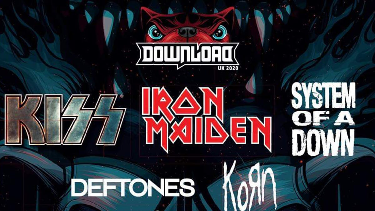 KISS, Iron Maiden, System Of A Down And More Announced For Download Festival 2020