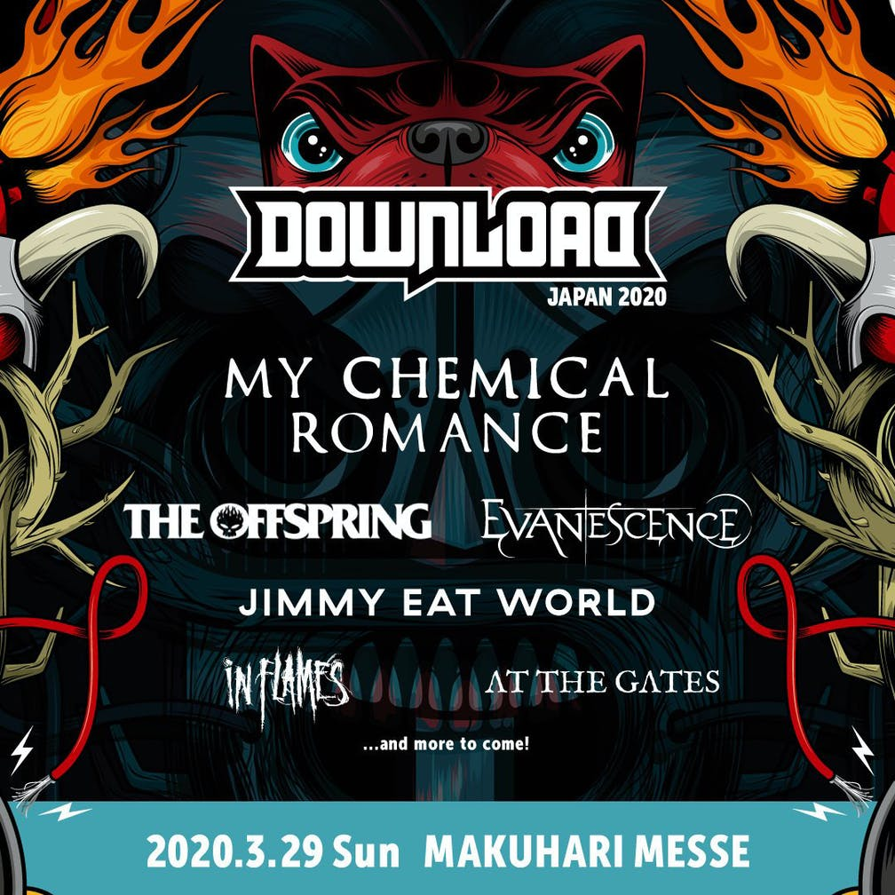 Download Festival 2020.My Chemical Romance Are Headlining Download Festival Japan