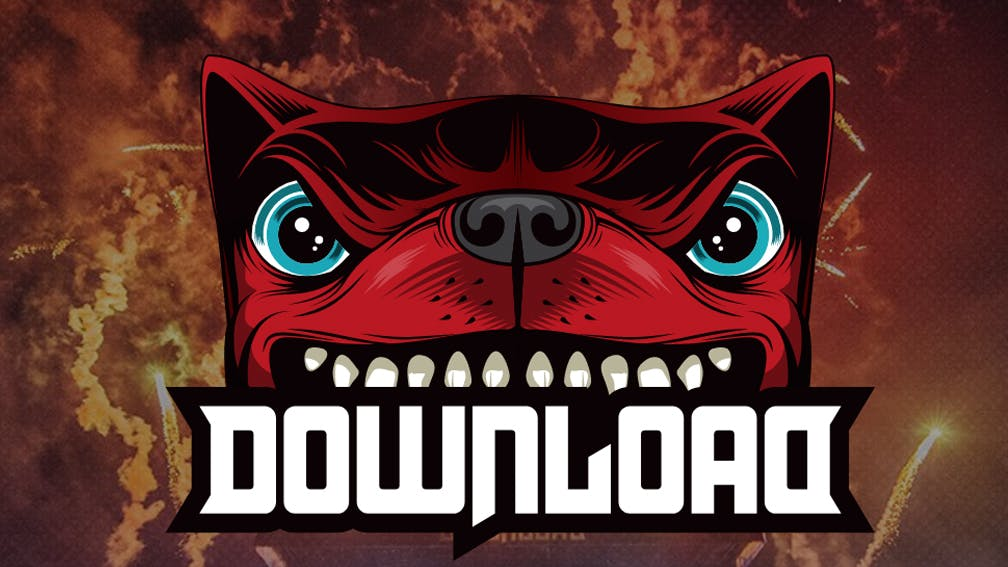 Download Festival 2018 Dog Header