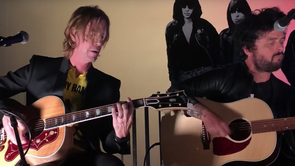 Watch Billie Joe Armstrong, Duff McKagan And More Perform At Johnny Ramone Tribute Show