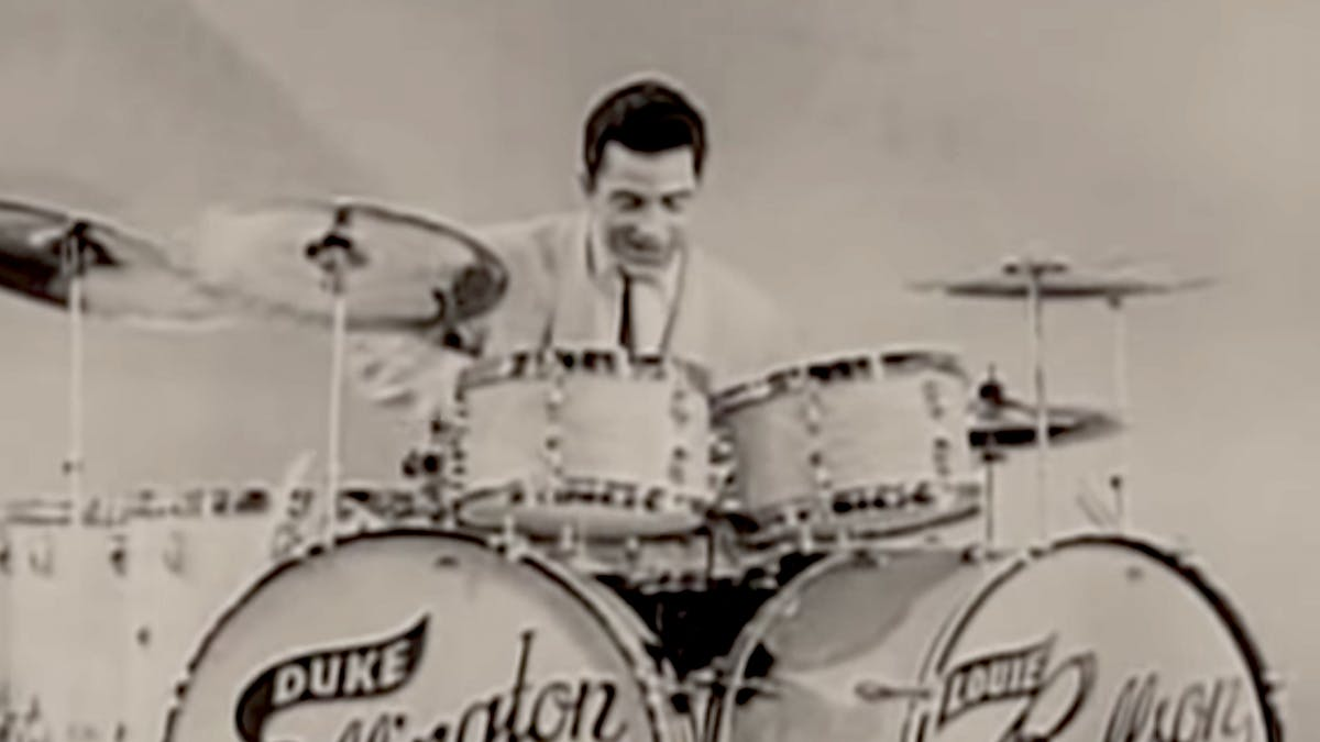 Is This The First Heavy Metal Drum Solo Ever?