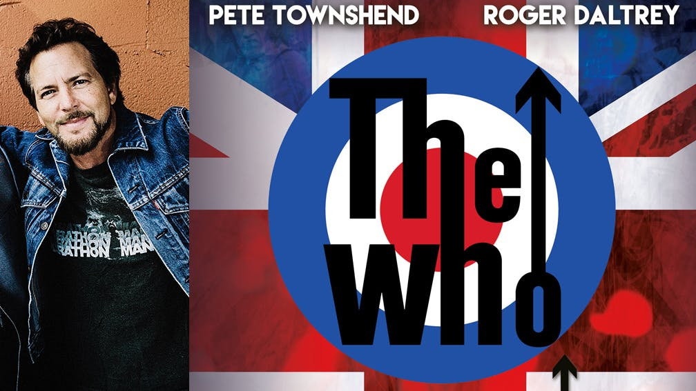 Eddie Vedder Supporting The Who Header