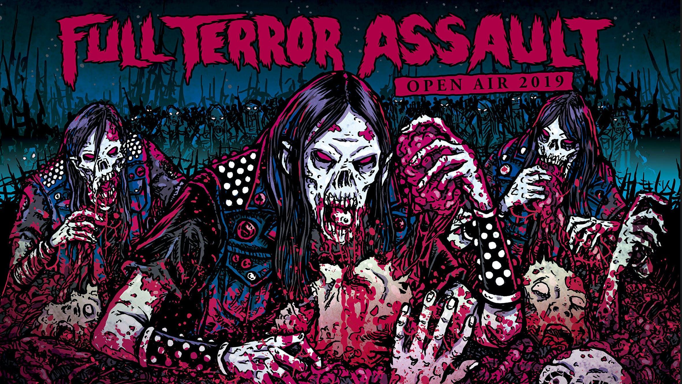 Extreme Metal Fest Full Terror Assault Festival Returns To Illinois In September
