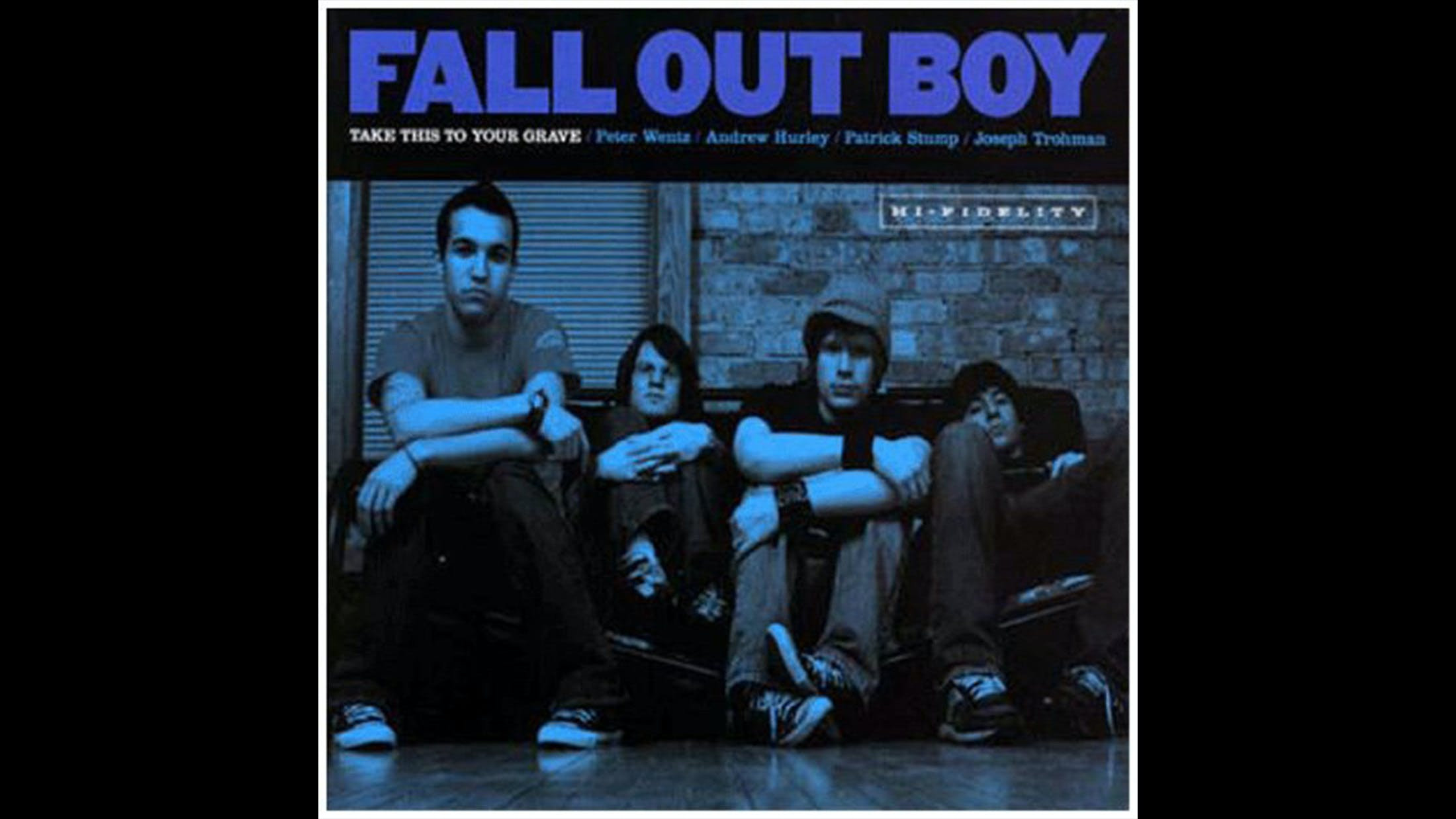 11. Fall Out Boy - Take This To Your Grave (2003)
