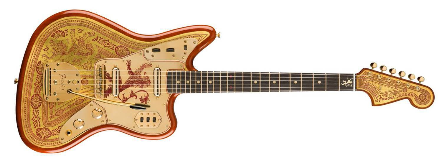 Fender Game Of Thrones Guitar 2