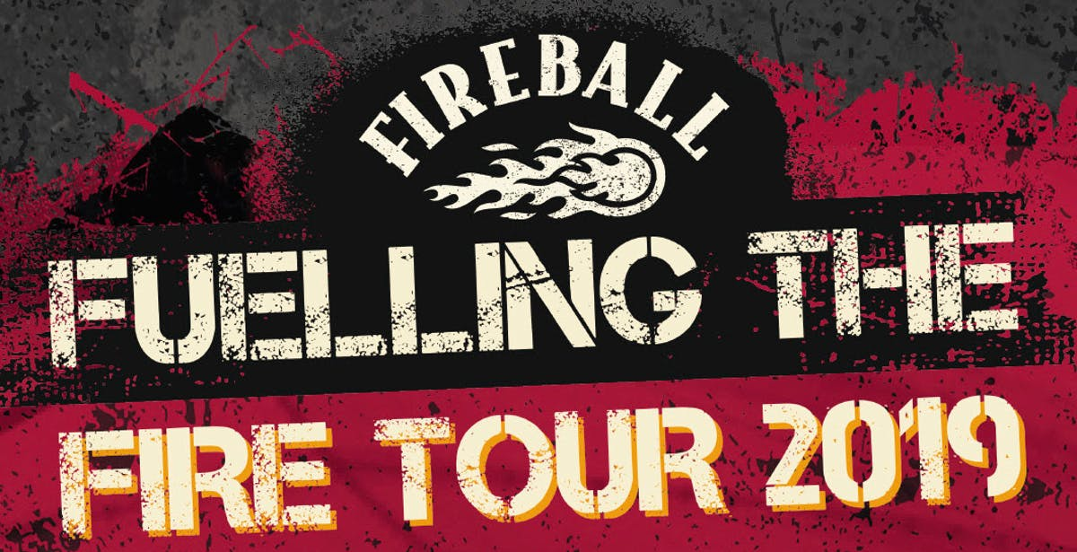 Local Supports Announced For Fireball: Fuelling The Fire Tour