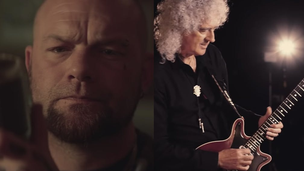Five Finger Death Punch Brian May Blue On Black Video