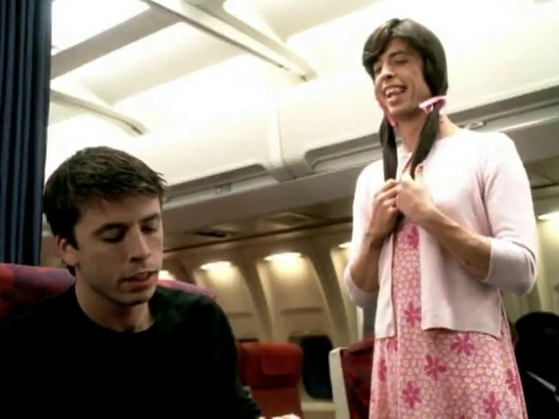 Sex på flyvideo