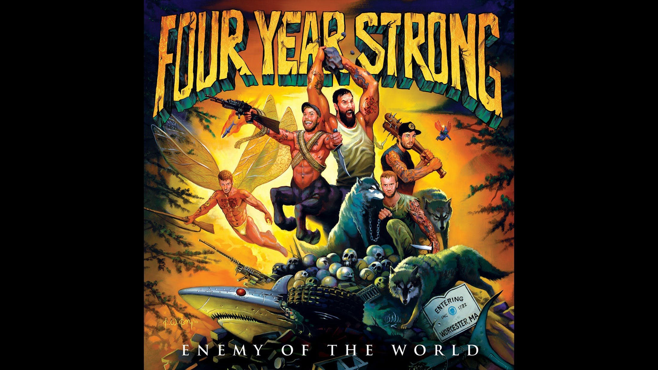 23. Four Year Strong - Enemy Of The World (2010)
