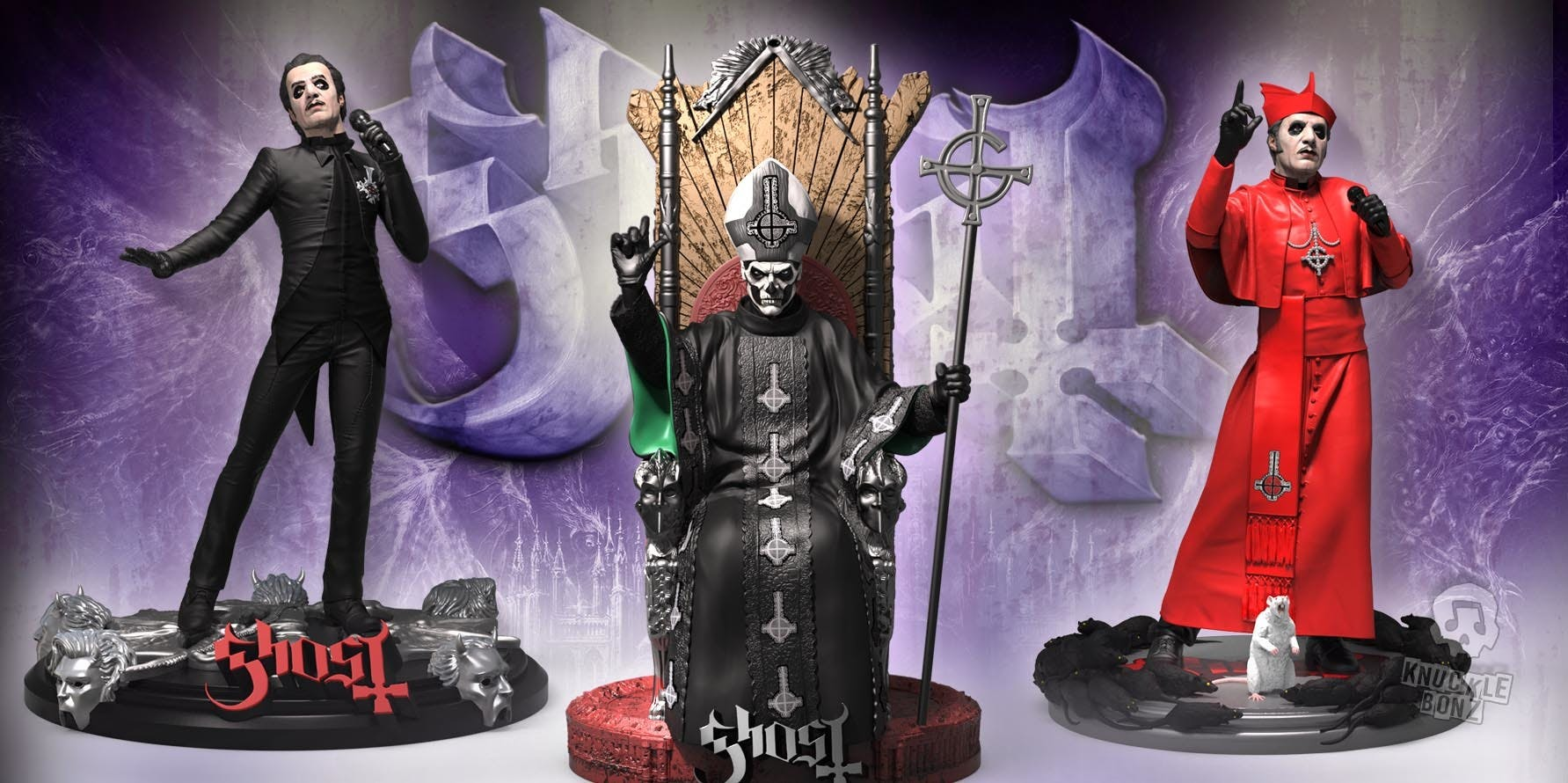Can You Afford These New Ghost Action Figures?