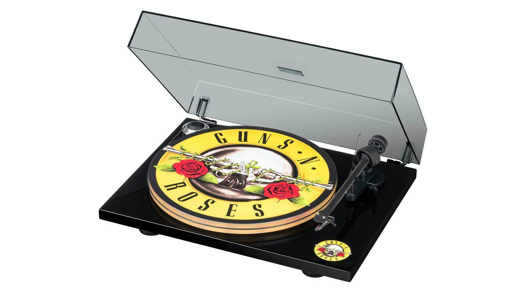 Guns N Roses turntable