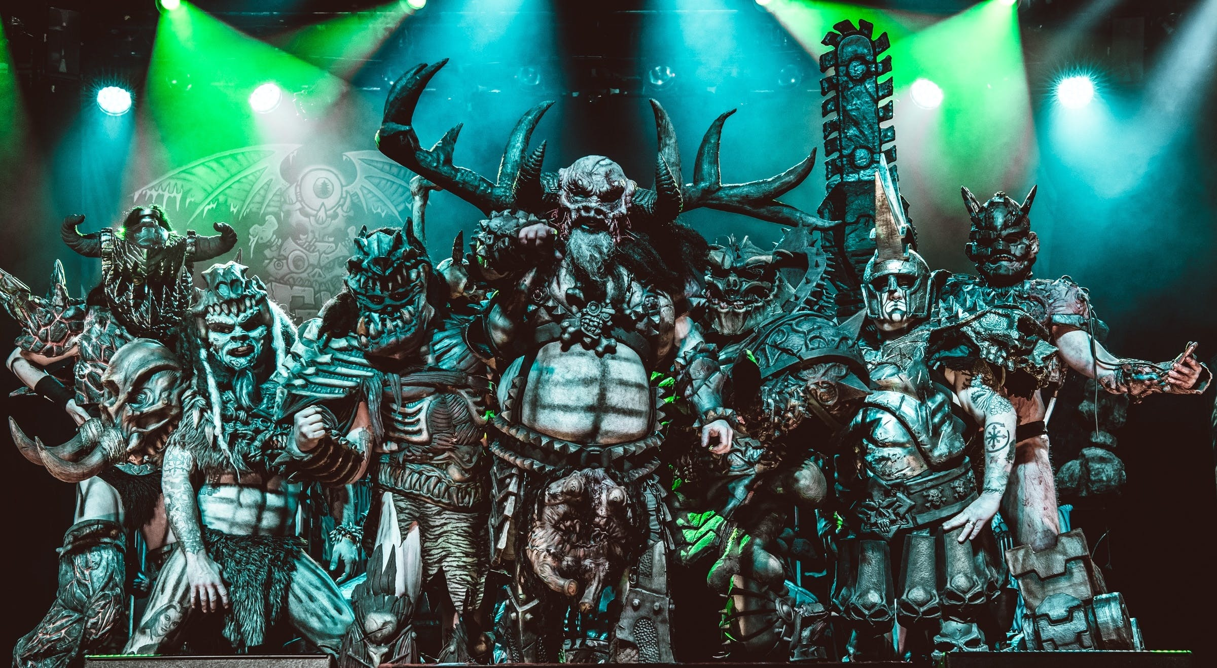 GWAR On Halloween Is A Disgusting Bloodbath Of Epic Proportions