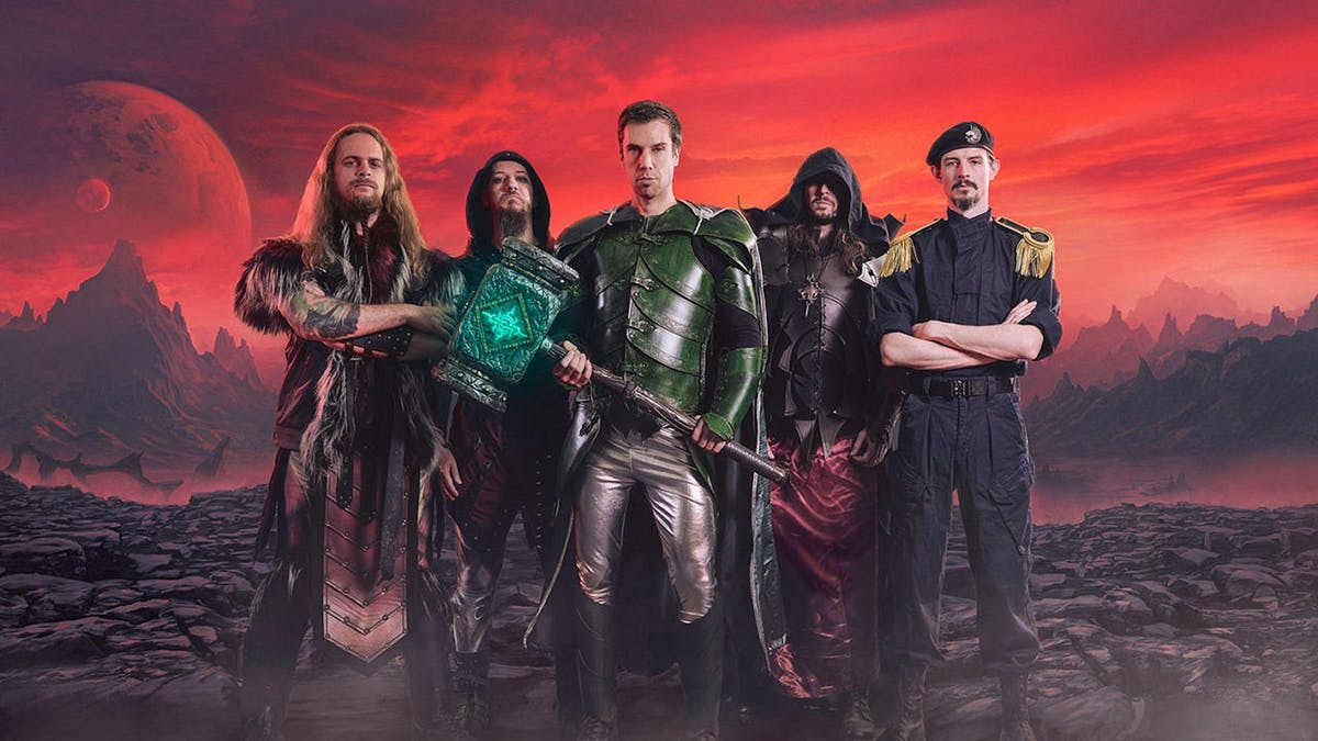 Gloryhammer Make Music For The Jetpack Wizard In All Of Us