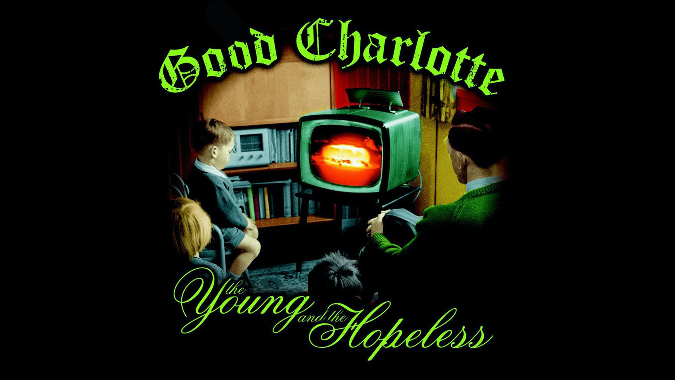 12. Good Charlotte - The Young And Hopeless (2002)