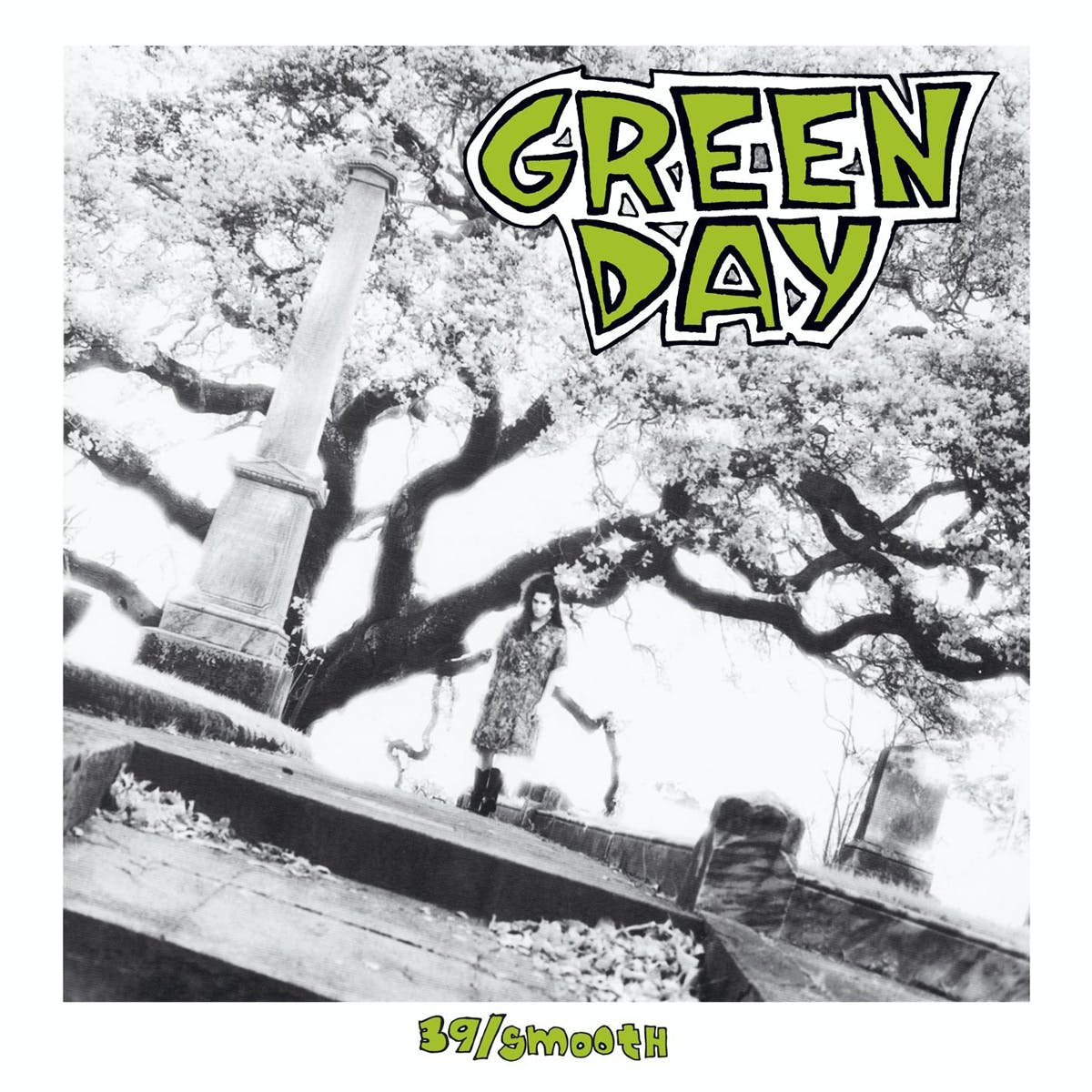 The cover of Green Day's debut album, 39/Smooth