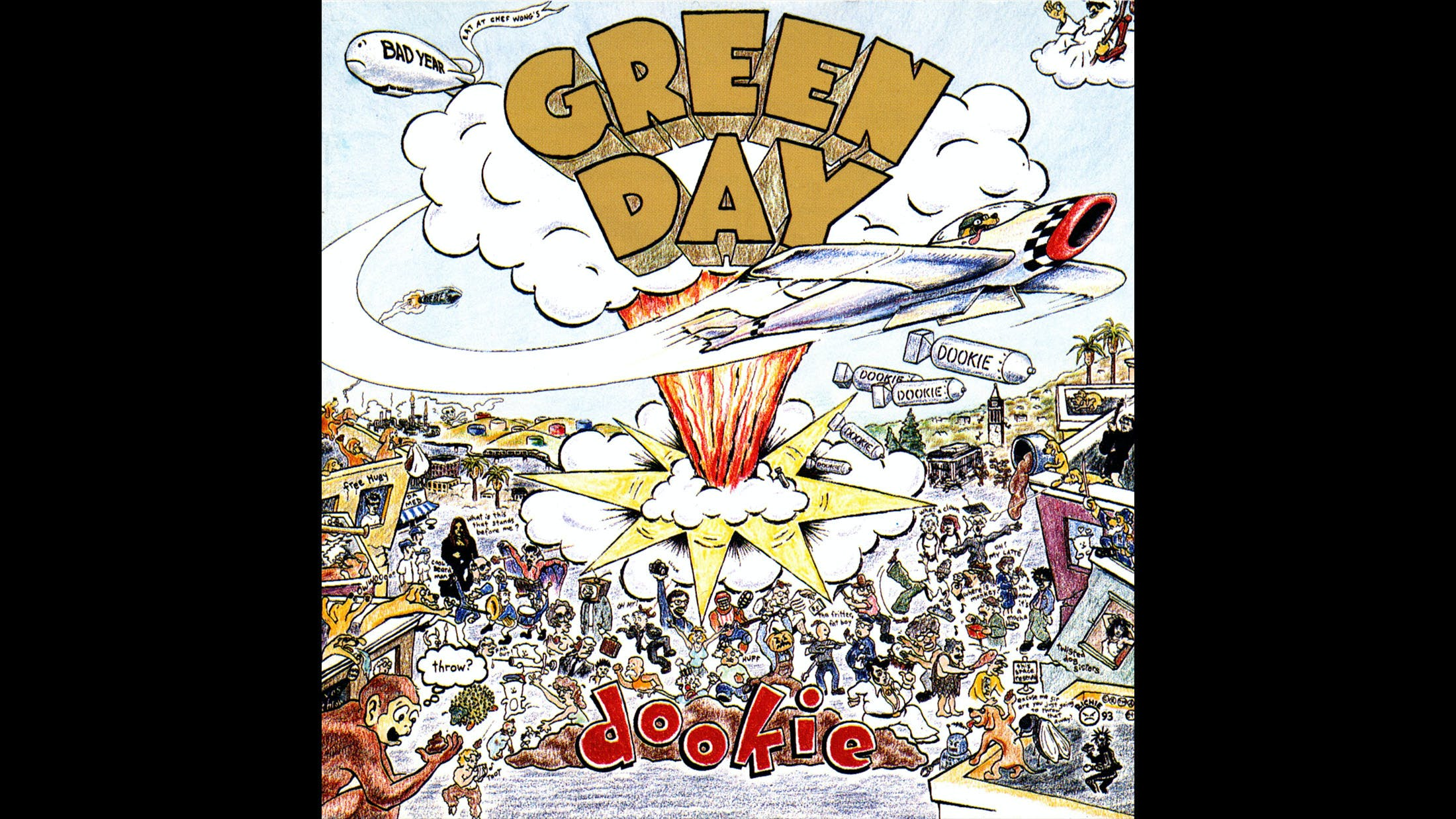 2. Green Day - Dookie (1994)