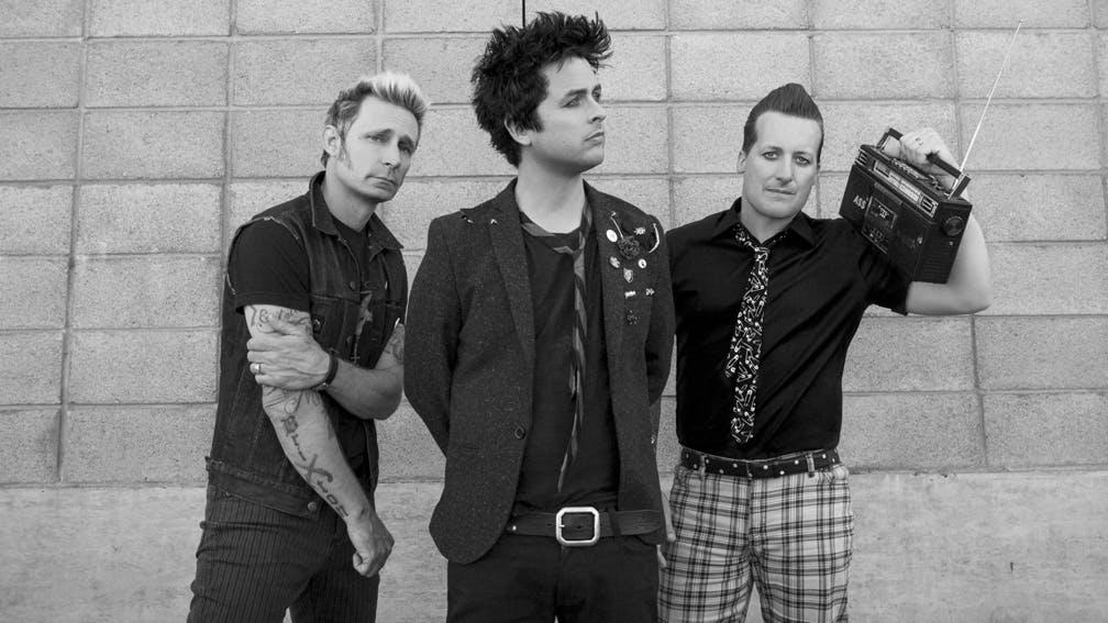 Green Day 2016 Promo B W