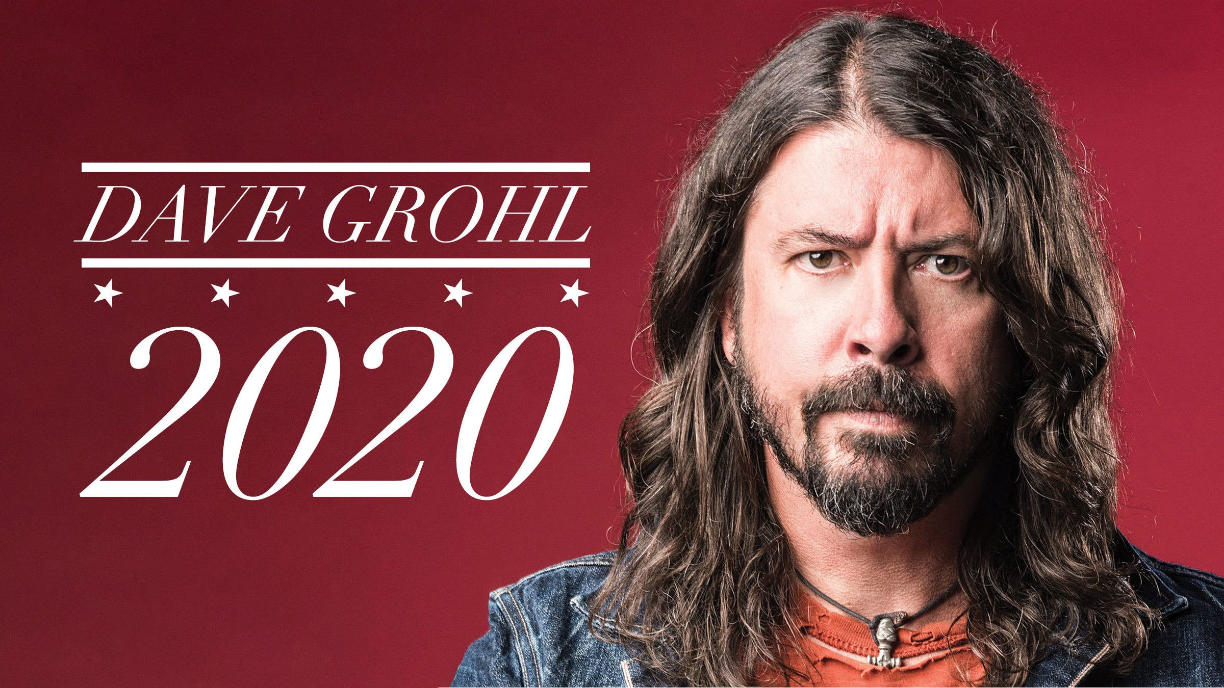 Foo Fighters Us Tour 2020 Dave Grohl Announces He Is Running For President in 2020 — Kerrang!