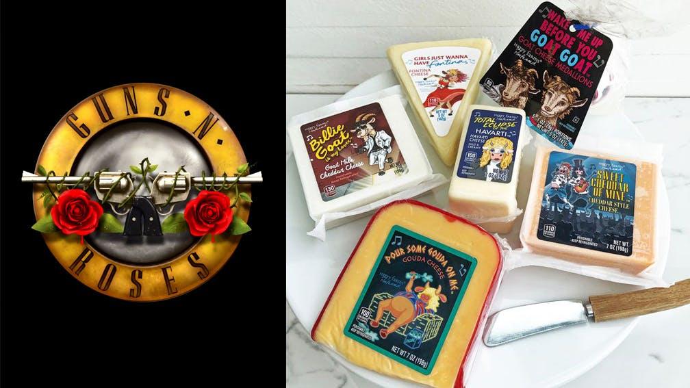 Guns N Roses Aldi Cheese