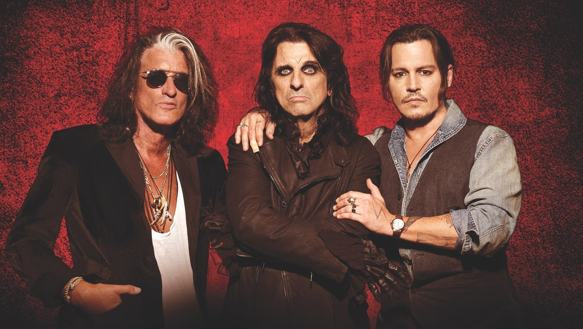 Hollywood Vampires release cover of David Bowie's Heroes with Johnny Depp on Vocals