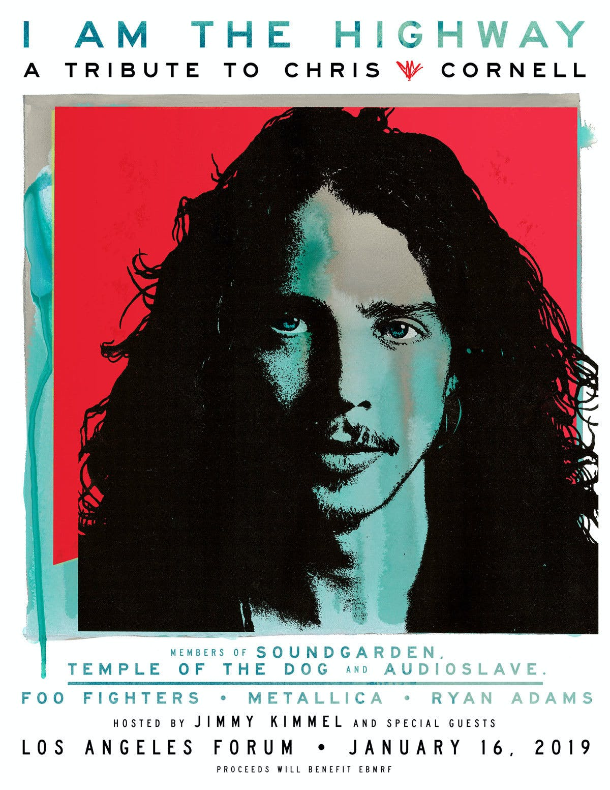 I Am The Highway Chris Cornell Tribute Poster