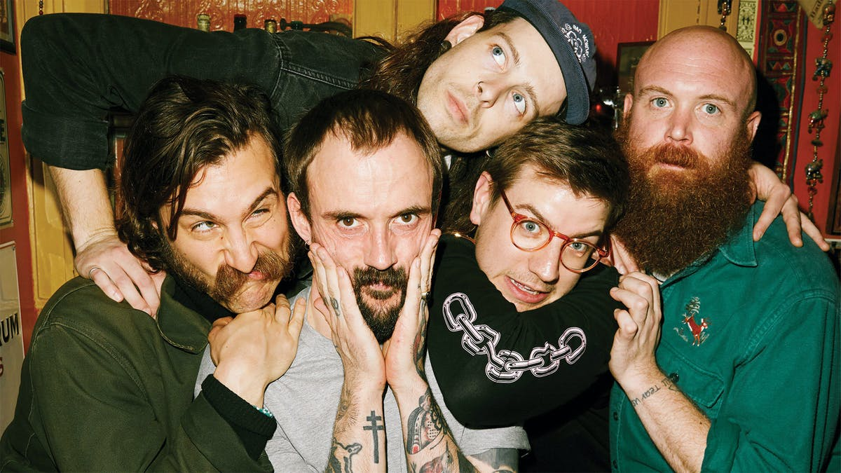 "IDLES Confirm New Album: ""It's Being Mixed Right Now"""