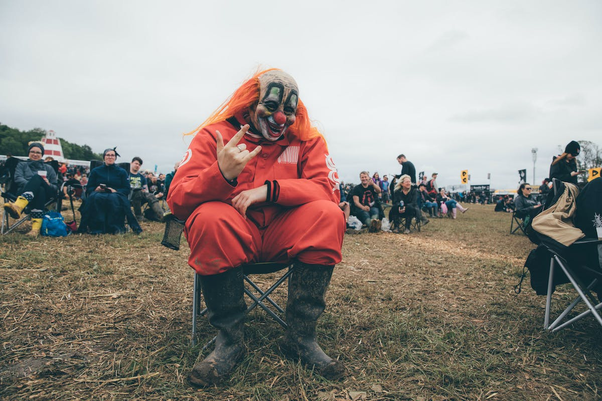 In Pictures: The Slipknot Fans Of Download Festival
