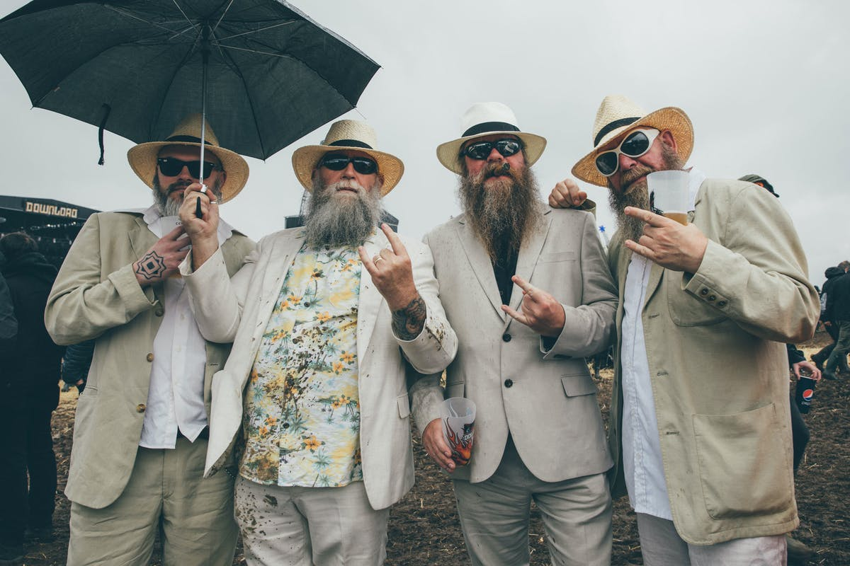 In Pictures: The Slayer Fans Of Download Festival