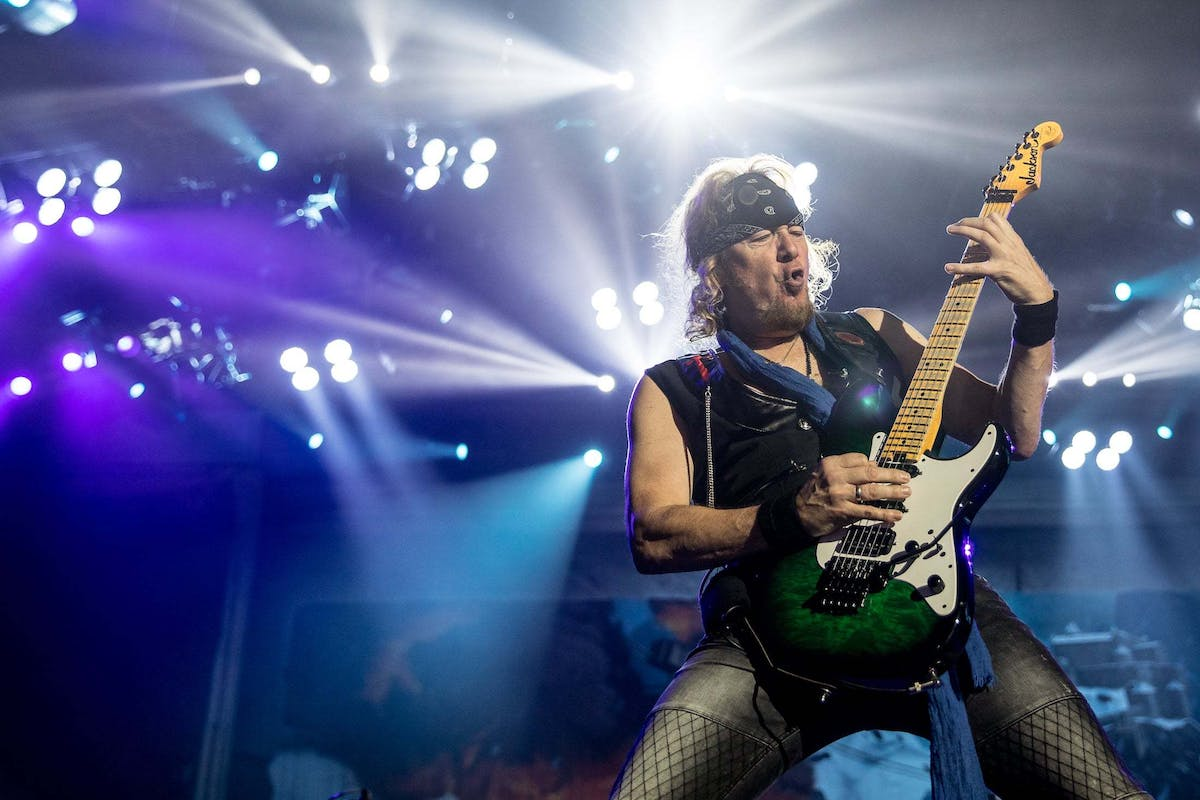 Iron Maiden Guitarist Adrian Smith Will Be Releasing An Autobiography