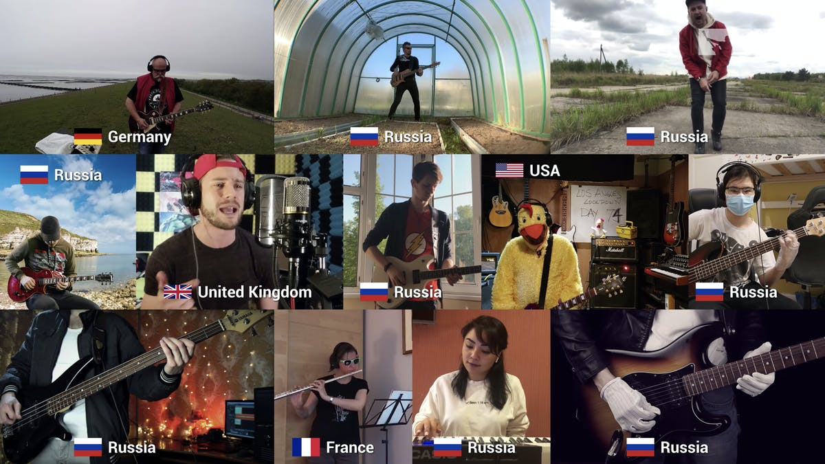 Watch 266 Musicians In 35 Different Countries Perform Linkin Park's In The End — Kerrang!