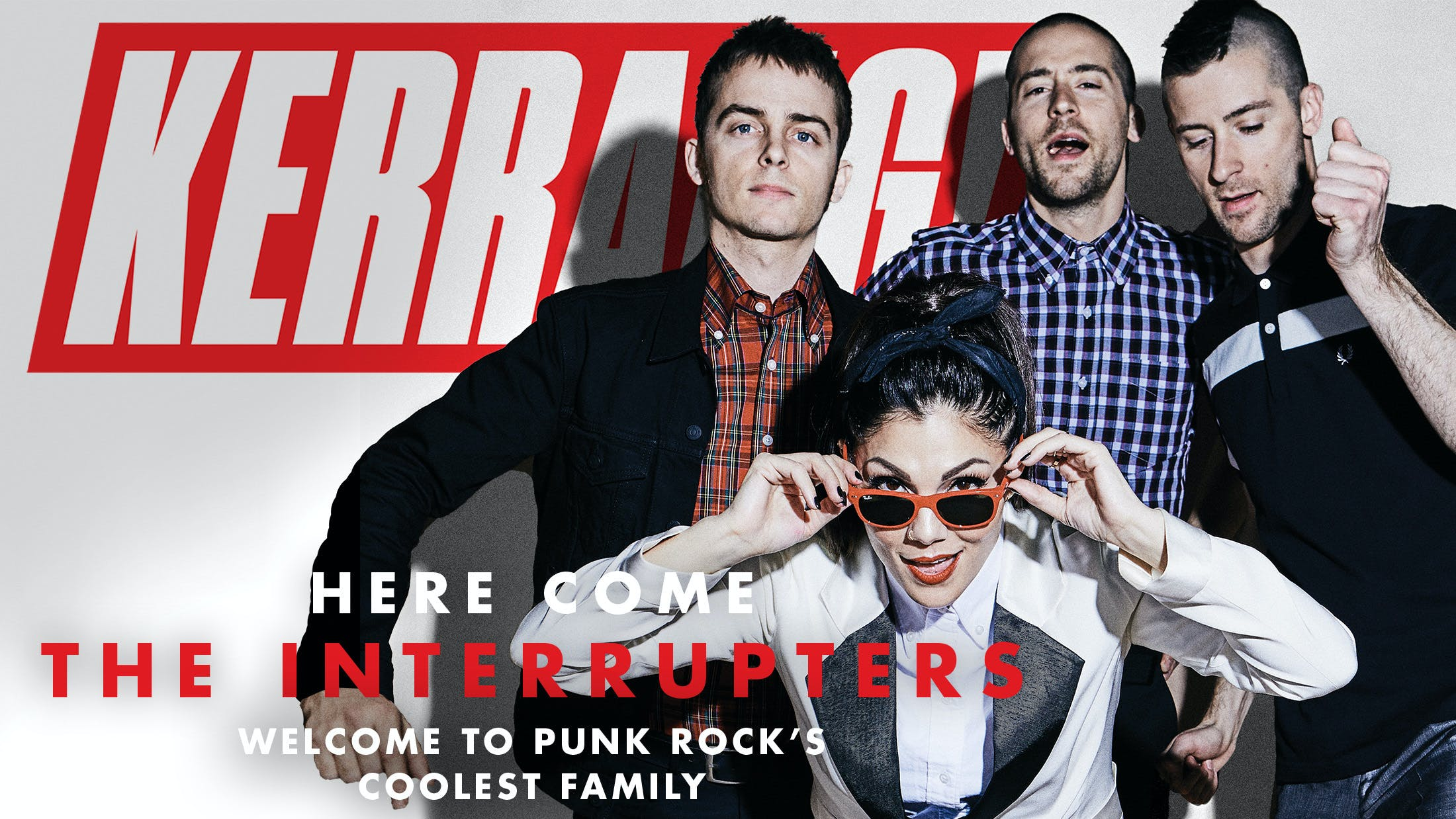 Here Come The Interrupters: Welcome To Punk Rock's Coolest Family