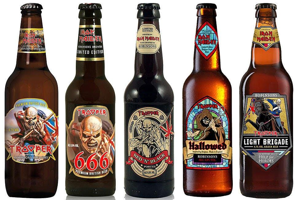 Iron Maiden Beers