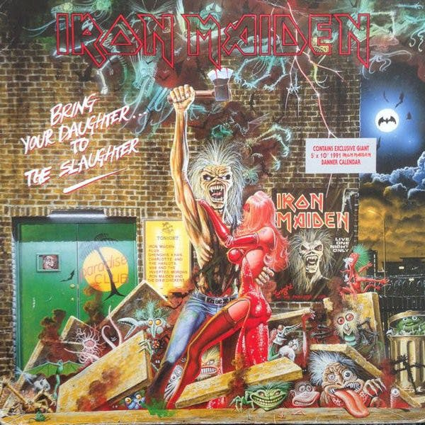Iron Maiden Bring Your Daughter Single