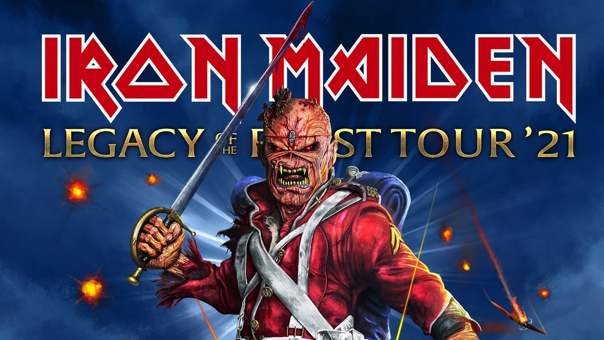 Iron Maiden Add Final Dates To Legacy Of The Beast 2021 European Tour Kerrang