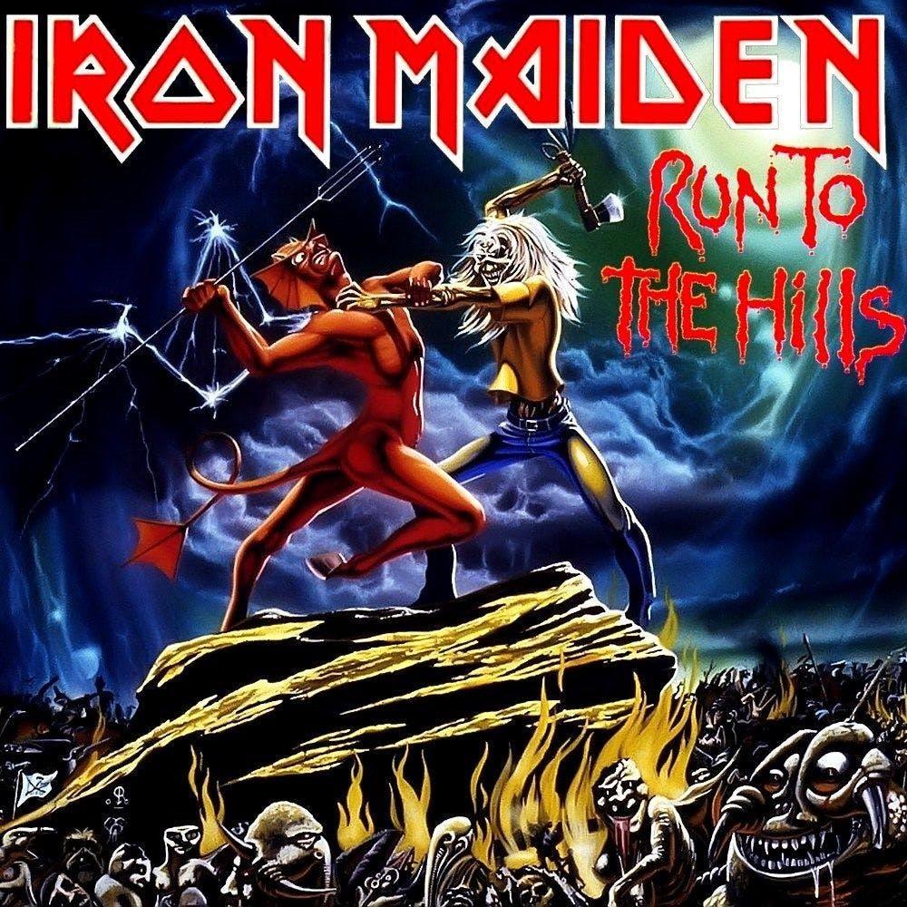 Iron Maiden Run To The Hills Single