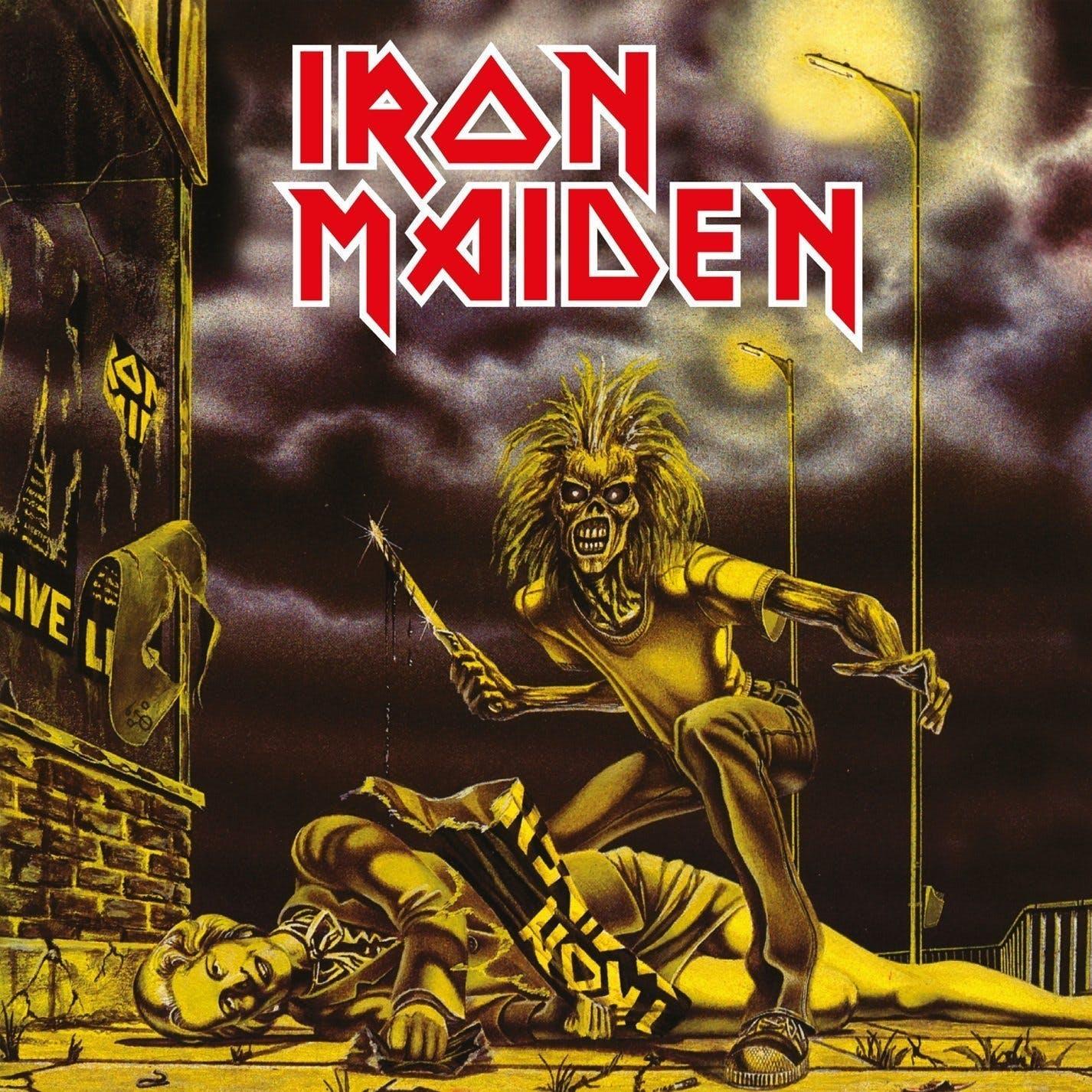 Iron Maiden Sanctuary Cover Art
