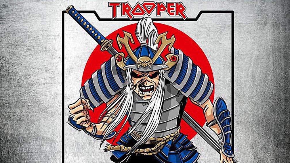 Iron Maiden Announce New Saké Lager, Sun And Steel