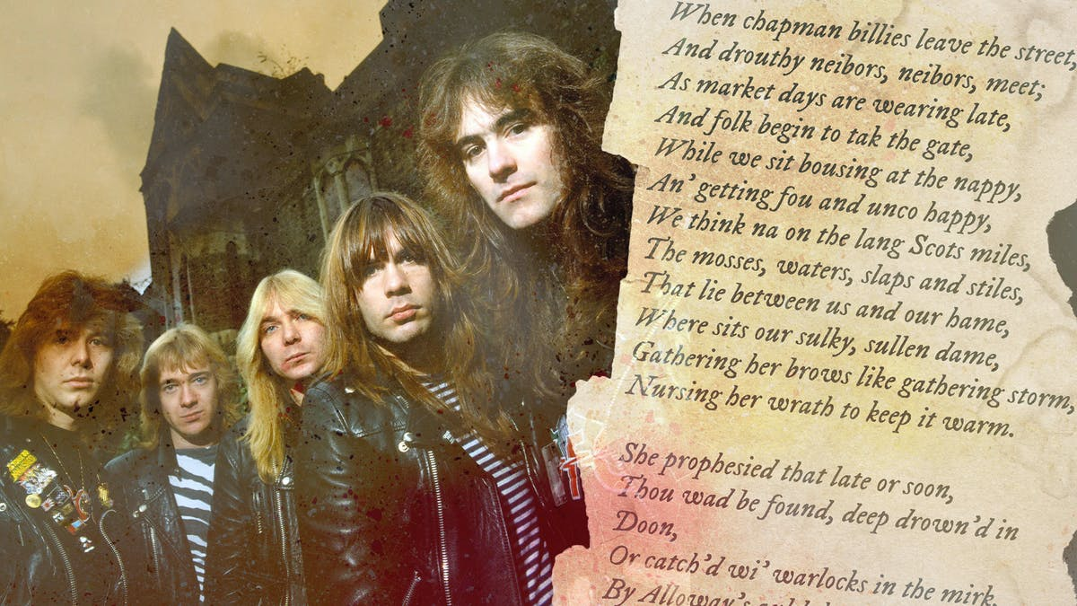 Metal And Meter: The Unsung Influence Of Poetry On Iron Maiden
